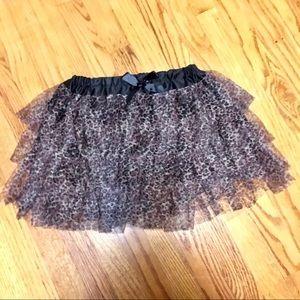 Hot Topic Ruffle Skirt